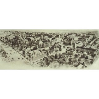 1910s Traditional Princeton University Print For Sale