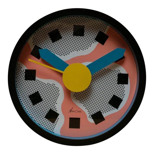 Wall Clock by Sowden and Du Pasquier for Neos For Sale