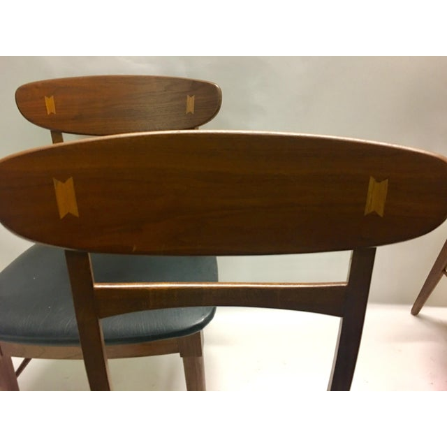 Mid Century Modern Danish Chairs - Set of 4 For Sale - Image 4 of 12