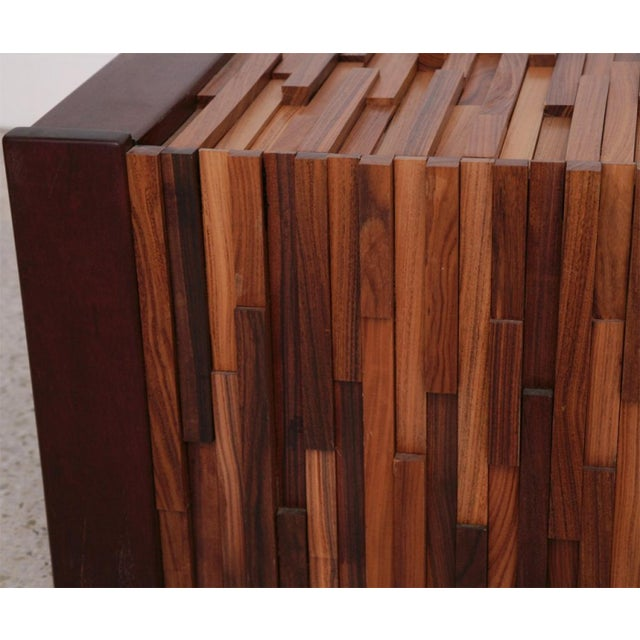 Pair of Brazilian Mixed Wood Low Tables For Sale In Miami - Image 6 of 9