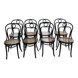 Fameg Bistro Dining Chairs - Set of 8 For Sale