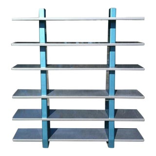 Iconic Memphis Shelving Unit by Gary Hutton For Sale