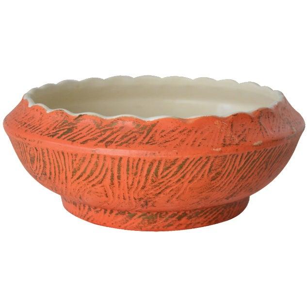 Golden Decorative McCoy Bowl - Image 1 of 6