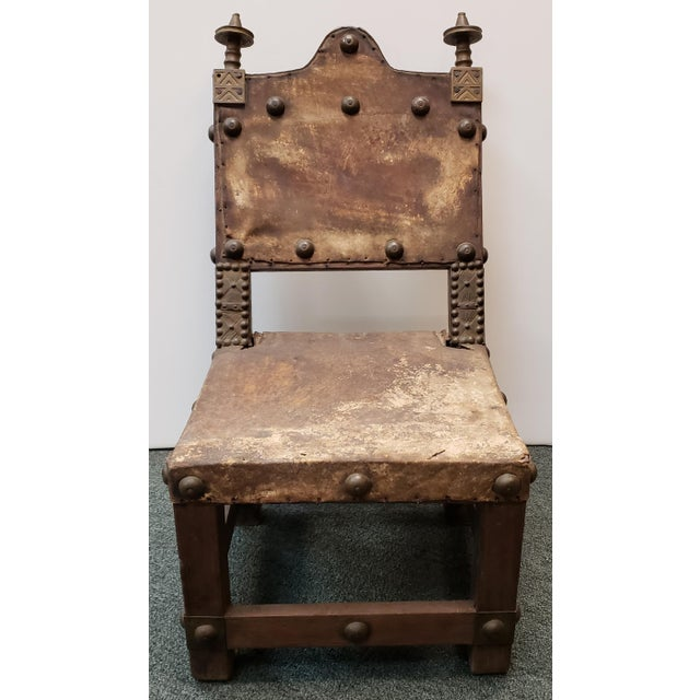 Metal Late 19th Century Ashanti Asipim Royal Court Chair From Ghana For Sale - Image 7 of 7