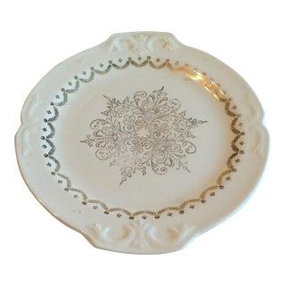 Vintage Semi Vitreous Platter For Sale