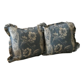 Cowtan and Tout King Pillow Shams - A Pair For Sale