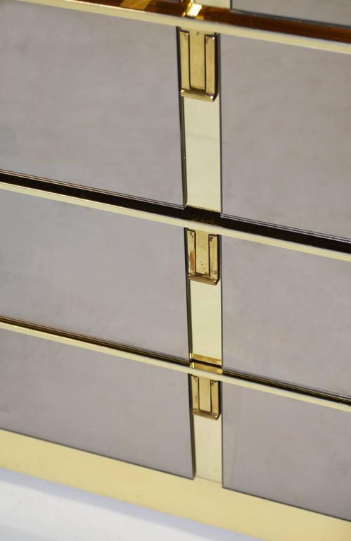 Bronze Mirrored Bar Cabinet By Ello   Image 4 Of 7