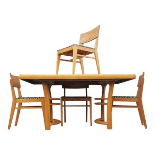 1950s Mid Century Dining Set - 5 Pieces For Sale