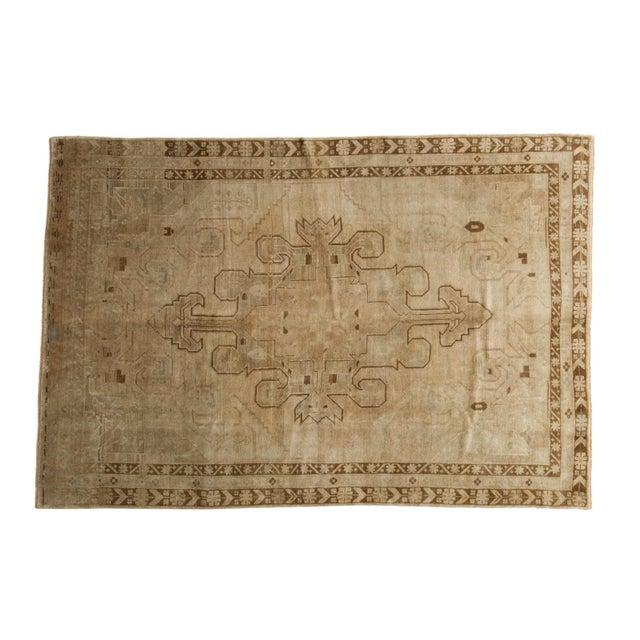 "Vintage Oushak Carpet - 5'8"" X 8'3"" - Image 1 of 10"