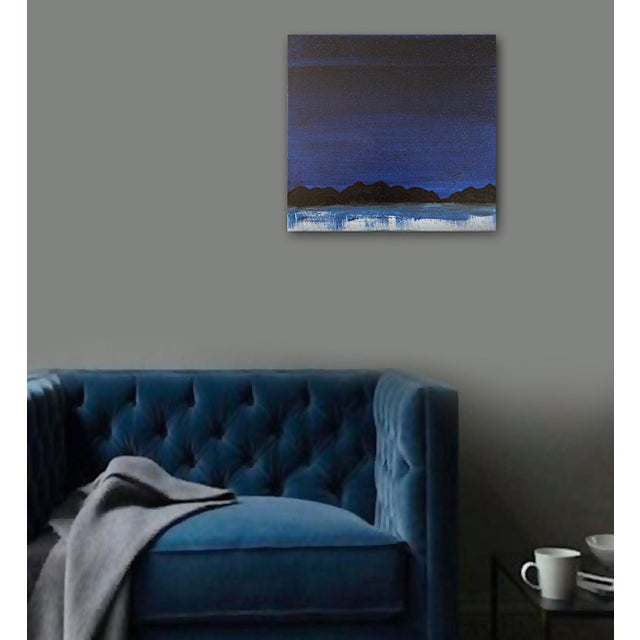 "Linnea Heide ""Midnight Range"" Original Painting - Image 2 of 6"