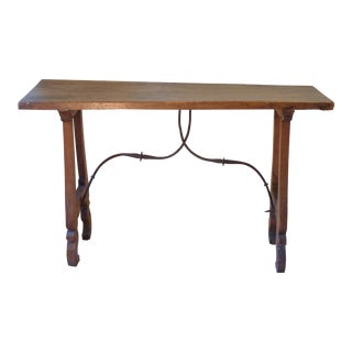 18th C. Rustic Spanish Console For Sale