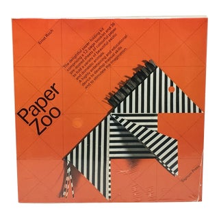 Ernst Roch Paper Zoo Origami Paper Folding Kit For Sale