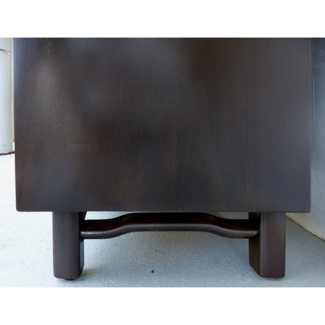 Lacquered 50's Credenza With Woven Cane Doors - Image 9 of 10