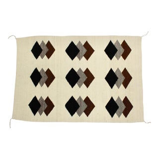 Vintage Navajo Rug by Nellie Chee, Keans Canyon, Arizona For Sale