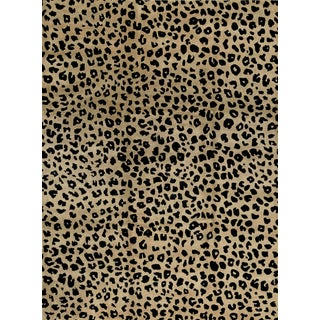 Contemporary Hand Woven Animal Print Rug - 9'1 X 12'2