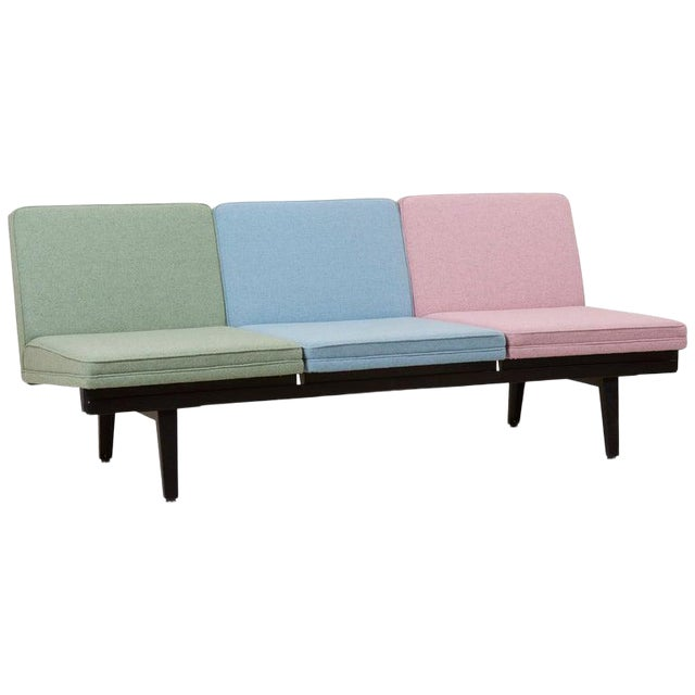 """""""Steel Frame"""" Sofa by George Nelson for Herman Miller For Sale"""