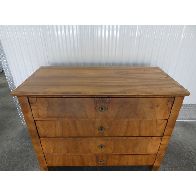 Mid 19th Century 19th Century Italian Empire Chest of Drawers For Sale - Image 5 of 12