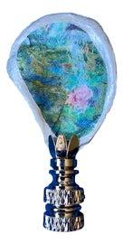 Image of Aqua Finials