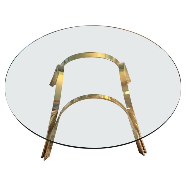 Glass Top Coffee Table For Sale - Image 9 of 9