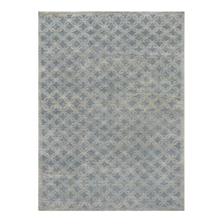"Mansour Fine Handwoven Modern Rug - 8' X 9'9"" For Sale"