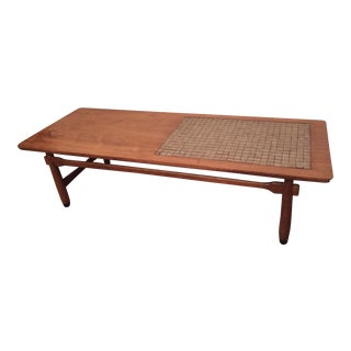 Lane Mid-Century Monte Carlo Tiled Coffee Table For Sale