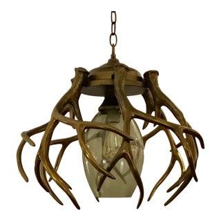 Currey & Co. Bronze Gamekeeper Pendant For Sale