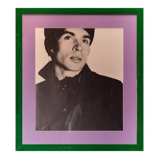 """""""Rudolf Nureyev"""" B&W Framed Photo by David Bailey From His Iconic 1962 Box of Pin-Ups For Sale"""