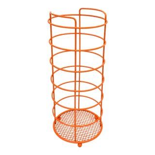 Orange Bathroom Wire Toilet Paper Holder For Sale