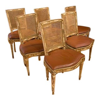 Six Side Chairs For Sale