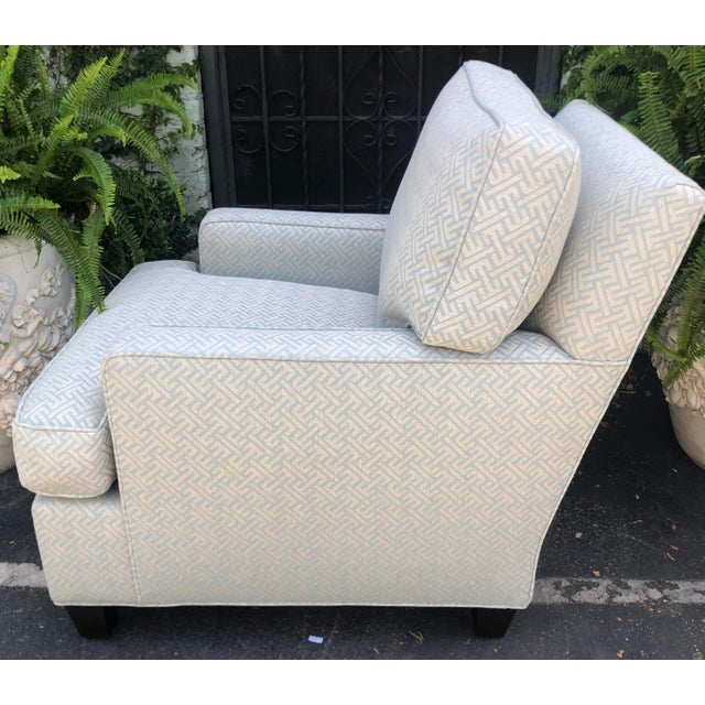 A. Rudin Art Deco Fully Upholstered Designer Club Chair by A. Rudin For Sale - Image 4 of 7