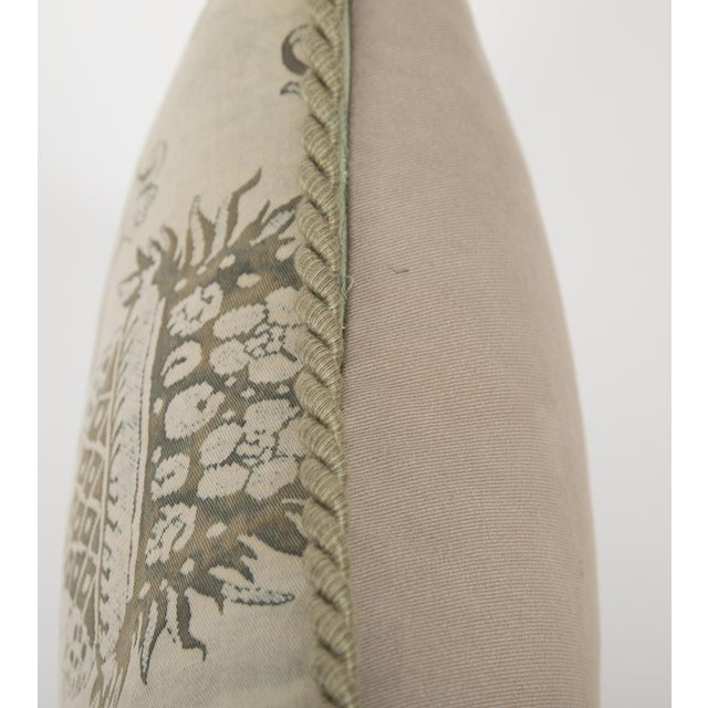 Fortuny Small Fortuny Fabric Pillow For Sale - Image 4 of 5
