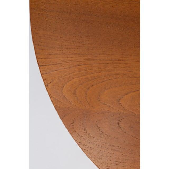 Hans Wegner Three-Legged Teak Coffee Table for Andreas Tuck For Sale - Image 10 of 12