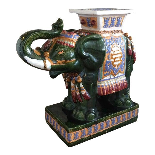 Ceramic Decorative Elephant Statue For Sale