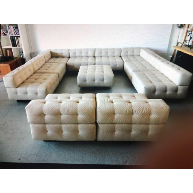 Harvey Probber 11 Piece Cubo Modular Sofa For Sale - Image 10 of 13
