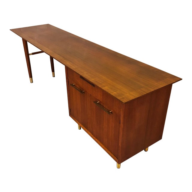 Mid Century Modern Executive Desk Credenza By Jasper Chairish