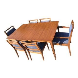 John Stuart for Mount Airy Furniture Mid-Century Modern Dining Set