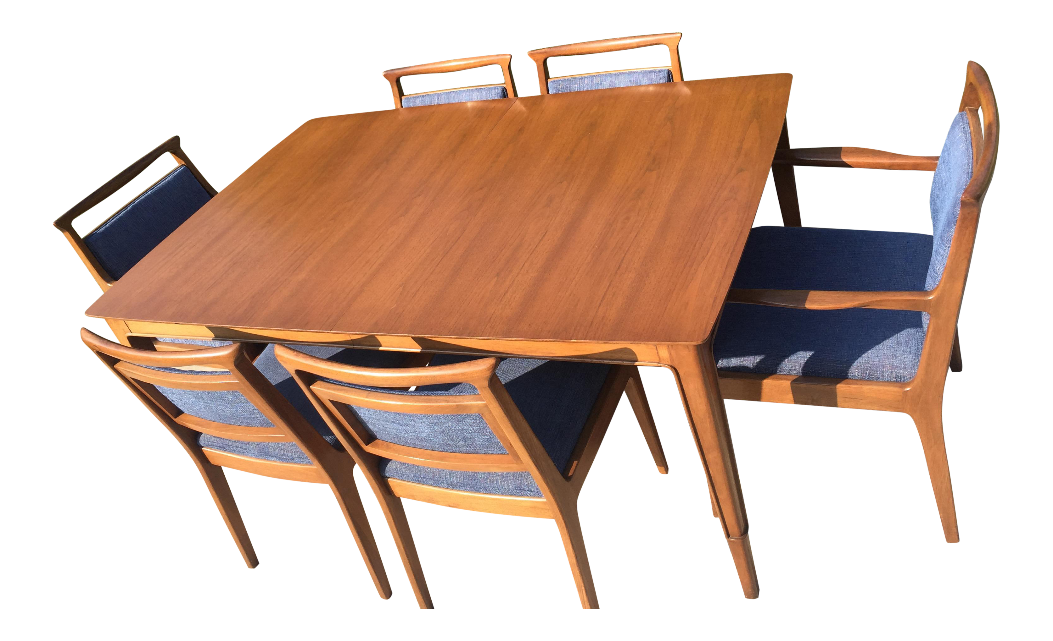 Exceptionnel John Stuart For Mount Airy Furniture Mid Century Modern Dining Set For Sale
