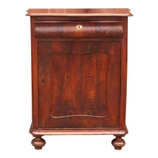 Stunning 19th Century French Empire Cabinet For Sale