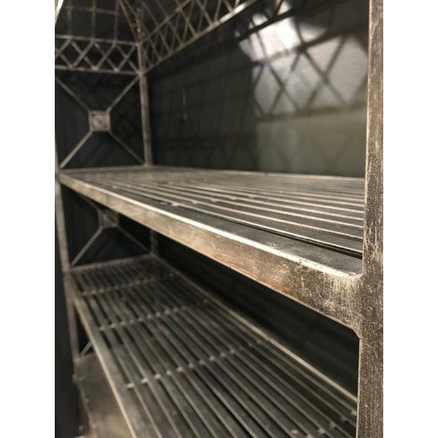 Gothic Iron Garden Baker's Rack For Sale - Image 3 of 8