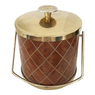 Brutalist Mid-Century Ice Bucket