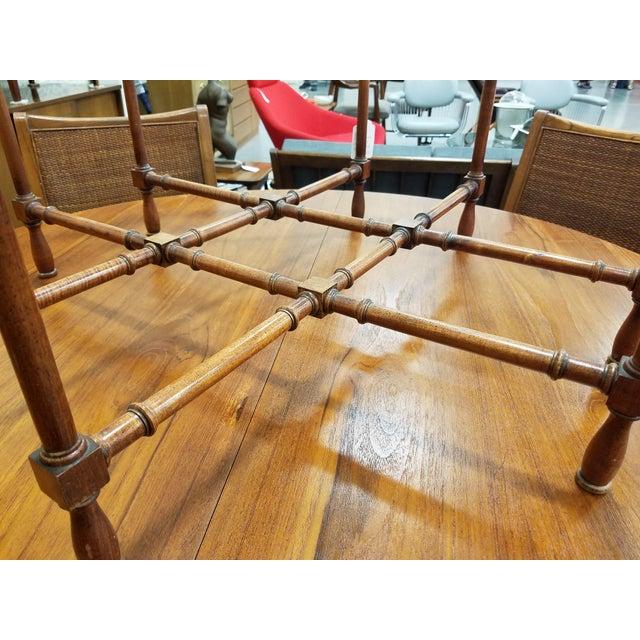 Baker Furniture Pie Crust Coffee Table - Image 6 of 6