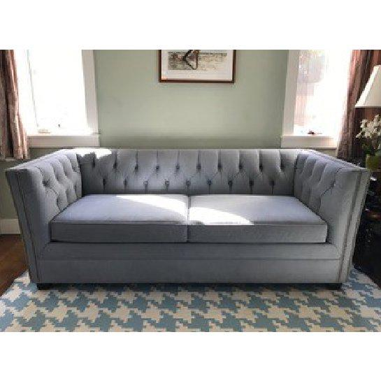 """sculptural sofas with timeless elegance each with a feel as luxe as the look. The 94""""-wide FIONA sofa features a beautiful..."""