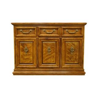 20th Century Italian Bernhardt Furniture Italian Server/Buffet With Marble Top For Sale