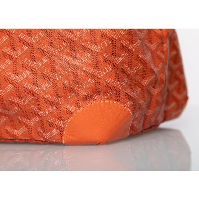 Goyard Orange St Louis Gm Chevron Tote Bag For Sale In Miami - Image 6 of 10