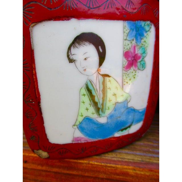 Porcelain Lacquer Glam Trinket Boxes - Set of 3 - Image 8 of 11