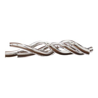 SkLO Sea Glass Object- Silver For Sale