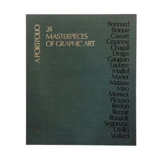 Masterpieces of Graphic Art: A Portfolio For Sale