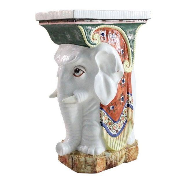 Elephant Garden Stool - Image 1 of 2