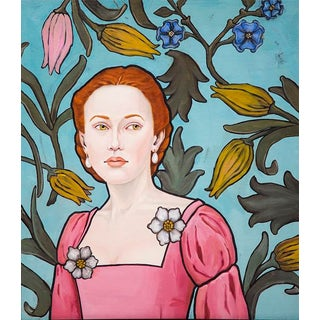 "Honora Jacob ""Lucrezia II"" Oil Painting For Sale"