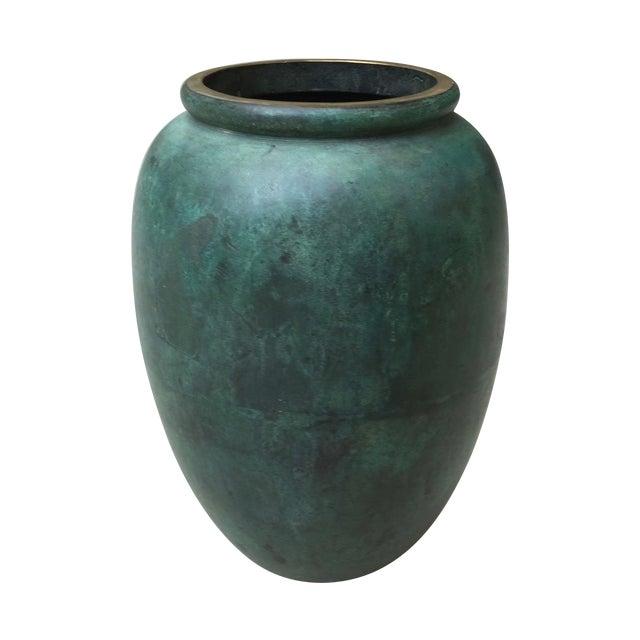 Vintage Bronze Vase - Image 1 of 6